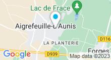 Plan Carte Piscine à Aigrefeuille d'Aunis