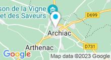 Plan Carte Piscine à Archiac