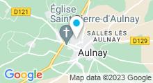 Plan Carte Piscine à Aulnay de Saintonge