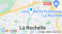 Plan Carte Piscine Lucien Maylin à La Rochelle