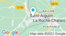 Plan Carte Piscine à Saint Aigulin