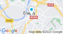 Plan Carte Piscine de la Cavée à Eragny-sur-Oise