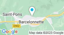 Plan Carte Piscine à Barcelonnette