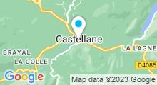 Plan Carte Piscine à Castellane