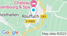 Plan Carte Piscine de Rouffach