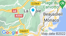 Plan Carte Piscine à La Turbie