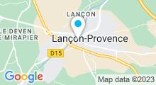 Plan Carte Piscine à Lancon Provence