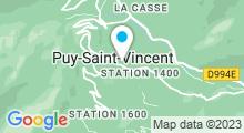 Plan Carte Piscine à Puy Saint Vincent