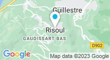 Plan Carte Piscine à Risoul