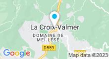 Plan Carte Piscine à La Croix Valmer