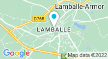 Plan Carte Piscine de Lamballe Communauté