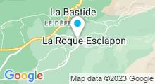 Plan Carte Piscine à la Roque Esclapon