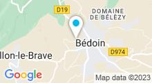 Plan Carte Piscine à Bedoin