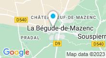 Plan Carte Piscine de La Bégude-de-Mazenc