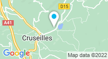 Plan Carte Centre nautique à Cruseilles