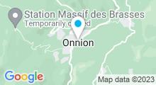 Plan Carte Piscine à Onnion