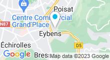 Plan Carte Piscine à Eybens
