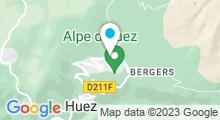 Plan Carte Piscine découverte à l'Alpe d'Huez
