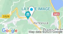 Plan Carte Piscine à la Motte d'Aveillans