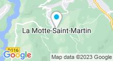 Plan Carte Piscine à La Motte Saint Martin