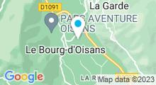 Plan Carte Piscine au Bourg d'Oisans