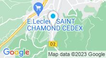 Plan Carte Centre Nautique - Piscine à Saint Chamond