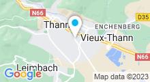 Plan Carte Piscine du Pays de Thann à Thann