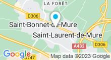 Plan Carte Piscine à Saint Laurent de Mure