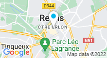 Plan Carte Piscine Talleyrand à Reims