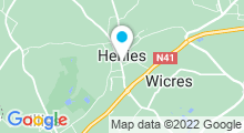 Plan Carte Piscine des Weppes à Herlies