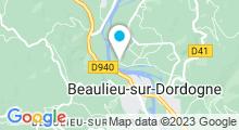Plan Carte Piscine à Beaulieu sur Dordogne