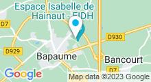 Plan Carte Piscine à Bapaume