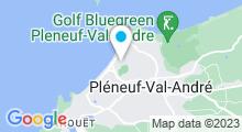 Plan Carte Piscine des Monts Colleux à Pleneuf Val André