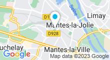 Plan Carte Piscine Aquasport à Mantes-la-Ville