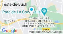 Plan Carte Stade nautique - Piscine à La Teste-de-Buch