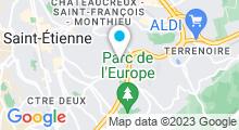 Plan Carte Centre nautique Yves Nayme - Piscine à Saint Etienne