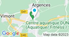 Plan Carte Centre aquatique Dunéo - Piscine à Argences