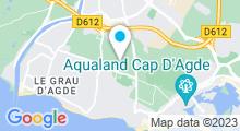 Plan Carte Piscine Archipel à Agde