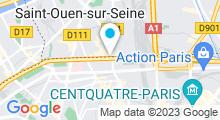 Plan Carte Piscine Bertrand Dauvin à Paris (18e)