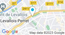 Plan Carte Piscine bassin-école Léon Biancotto à Paris (17e)