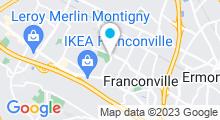 Plan Carte Piscine de Franconville