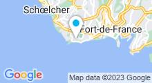Plan Carte Piscine Pointe de la Vierge à Fort de France