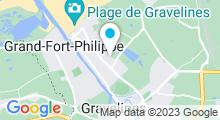 Plan Carte Piscine de Sportica à Gravelines