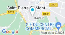Plan Carte Piscine à Saint Pierre du Mont