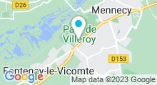 Plan Carte Aquastade du Val-d'Essonne à Mennecy