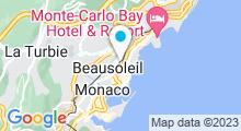 Plan Carte Piscine Saint Charles à Monaco
