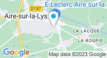 Plan Carte Piscine Aqualys à Aire sur la Lys