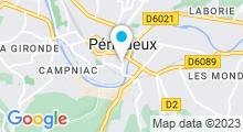 Plan Carte Piscine Bertran de Born à Perigueux