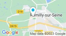 Plan Carte Centre aquatique Les 3 Vagues - Piscine de Romilly-sur-Seine