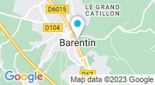 Plan Carte Centre aquatique L'Atréaumont - Piscine à Pavilly/Barentin